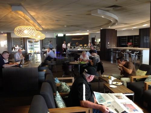 Air NZ Lounge Melbourne