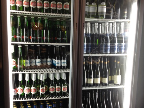 Air NZ lounge beverages