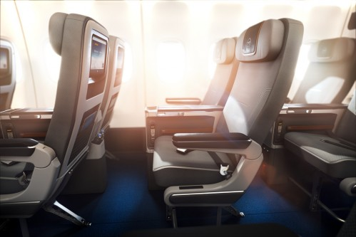 Lufthansa premium economy round the world