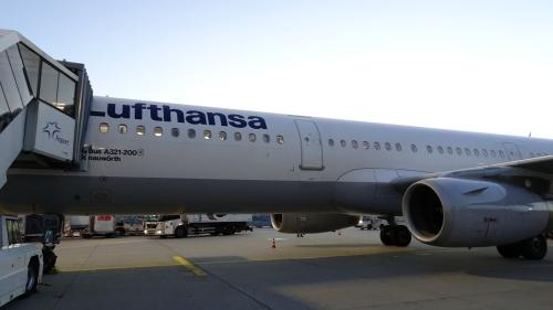 LH A321 aircraft