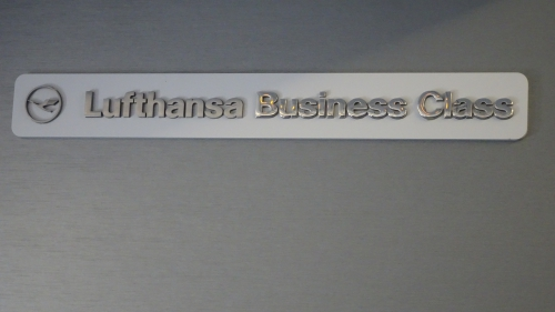 LH Business Class Sign