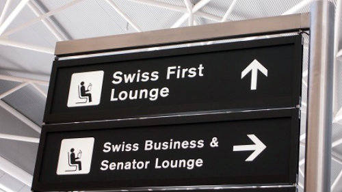 LX ZRH Lounge Directions