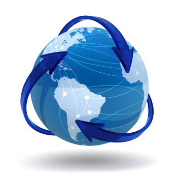 RTW globe