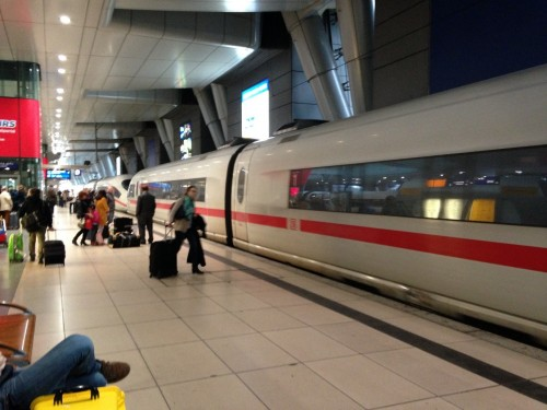 Frankfurt airport train