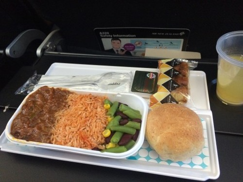 Air NZ Economy Meal