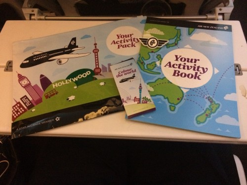 Air NZ Activity Kit for Kids