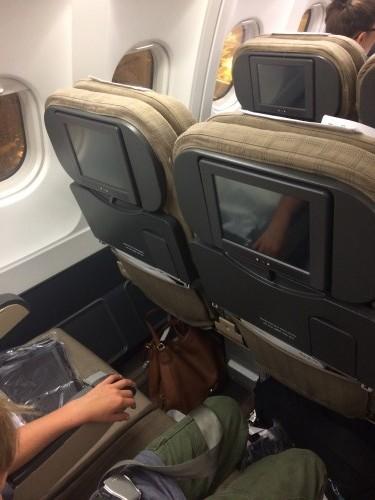 SWISS Economy A340 Seats
