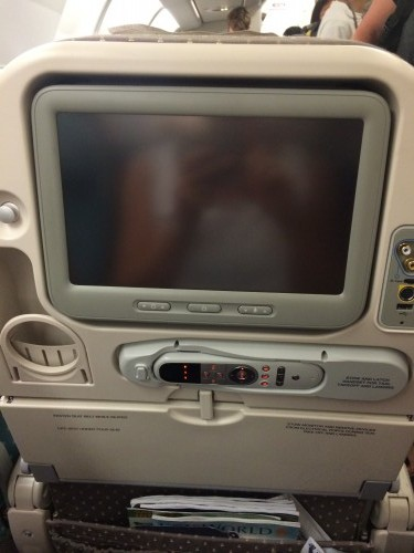 Singapore Airlines A330 entertainment