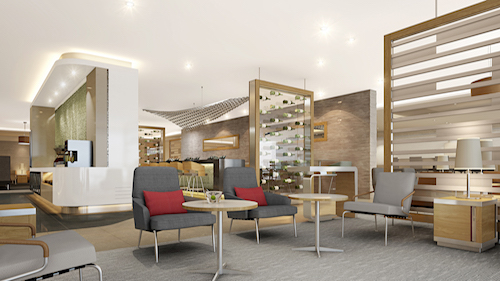 American Airlines, Flagship Lounge, JFK concept.