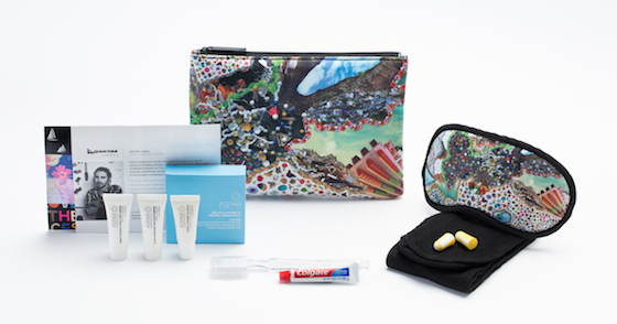 Qantas Amenity Kits, Jacob Leary - Bubblegum Dystopia