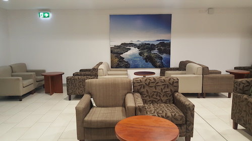 Fiji Airways temporary Lounge, Nadi Fiji