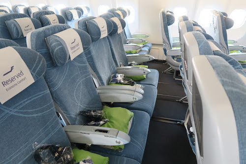 Finnair Economy Comfort seats have An additional 8-13cm of legroom.