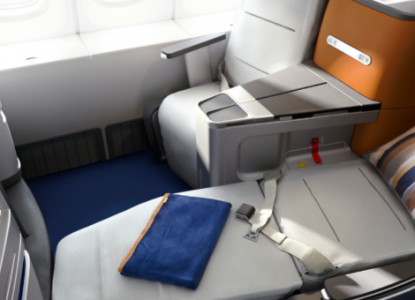 Lufthansa business class round the world flights