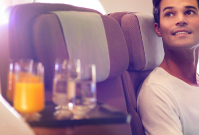 Qantas Premium Economy round the world