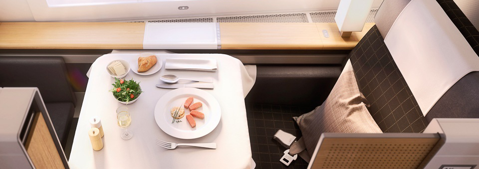 SWISS first class round the world airfare