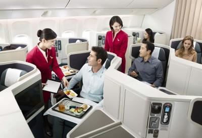 Round the world airfare Cathay Paciifc