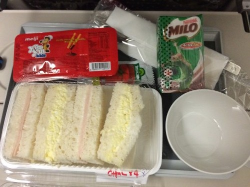 Singapore Airlines child meals