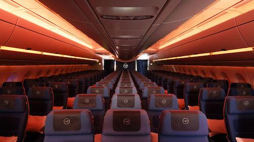 Lufthansa A350 Lighting System