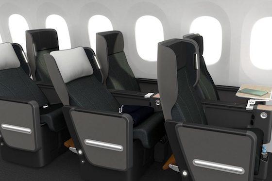Qantas Premium Economy Seat