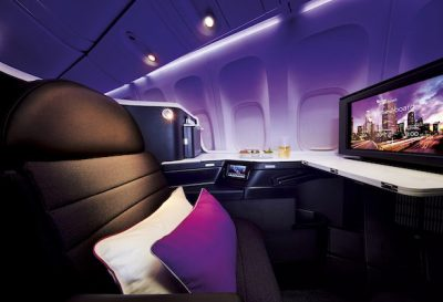 Virgin Australia Business Class round the world