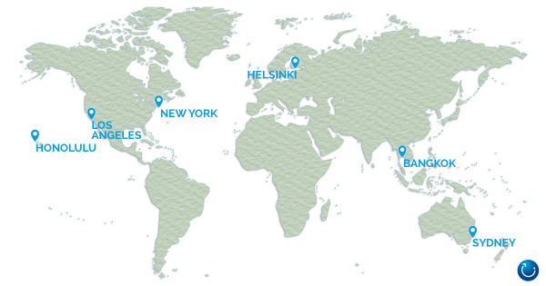 Finnair round the world airfare