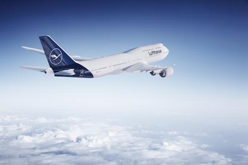 Lufthansa's new livery