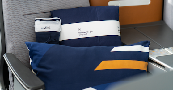 New Lufthansa Business Class Amenities
