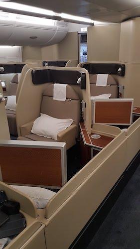 Qantas A380 First Class Cabin