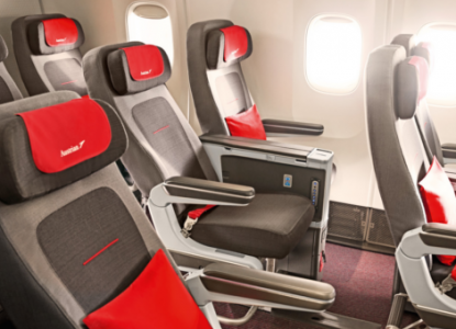Austrian Airlines Premium Economy Round The World