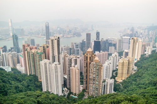 round the world airfare with a Hong Kong Stopover