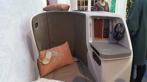 New Singapore Airlines A350 Medium Haul Seat