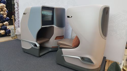 Singapore Airlines A350 Medium Haul Business Class Seat