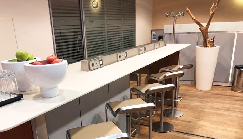 Lufthansa Frankfurt Welcome Lounge Business Centre