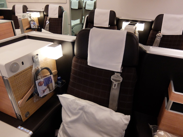 SWISS Business Class Throne Seat