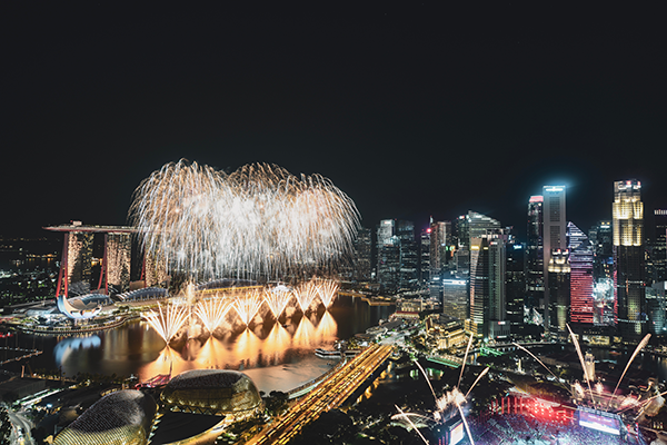 Celebrate New Years Eve in Singapore